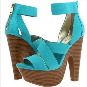 Jessica Simpson tookie platform sandal